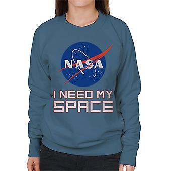 NASA I Need My Space Women's Sweatshirt