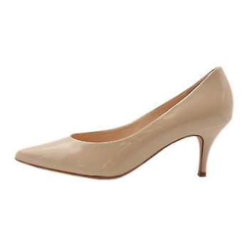 Högl 7-10 6114 Victory 60 Stylish Pointed Toe Court Shoes In Cotton