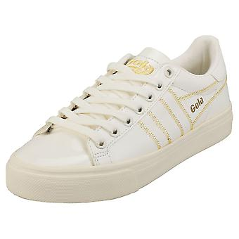 Gola Orchid Ii Patent Womens Fashion Trainers in Off White