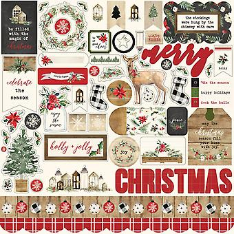 Carta Bella Christmas 12x12 Inch Element Sticker