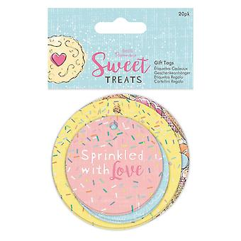 Papermania Sweet Treats Gift Tags (20pk) (PMA 174331)