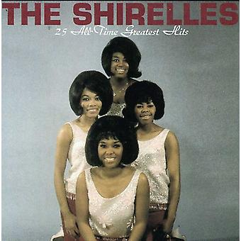 Shirelles - 25 All-Time Greatest Hits [CD] USA import