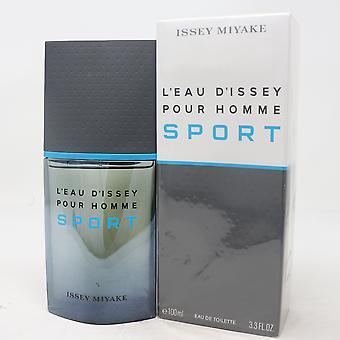 L'eau D'issey Sport av Issey Miyake Eau De Toilette 3.3oz Spray Ny med box