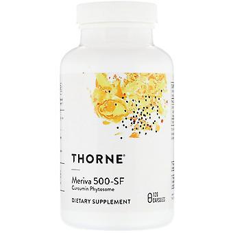 Thorne Research, Meriva 500-SF, 120 Capsules