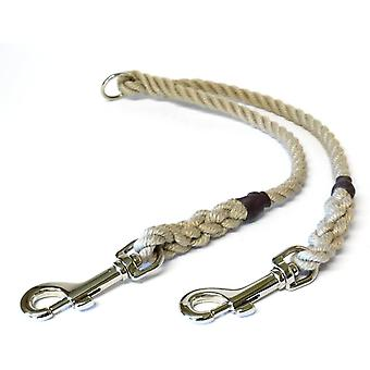 Kjk Ropeworks Braided Rope Couple 8mm x 35cm - Natural