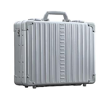 "ALEON Attach' Caja portátil de aluminio 17"" Caja portátil 42 cm, plata"