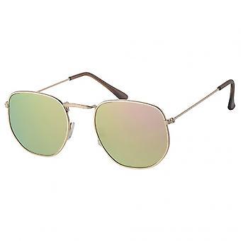 Sunglasses Unisex sport A30160 14.5 cm gold/brown