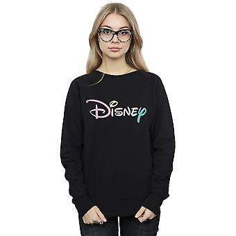 Disney Women's Pastel Logo Sweatshirt