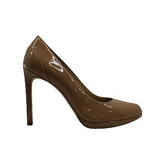 Michael Michael Kors Womens Brielle pump Fabric Pointed Toe Platform Pumps