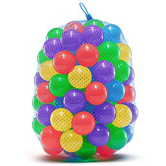100 Crush Proof Soft Plastic Ball Pit Balls para trampolín Play Tent Ball Pools