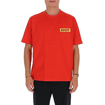 Junya Watanabe T0020511 Men's Red Cotton T-shirt