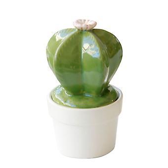 Ceramic Simulation Cactus Ball Ornaments Desktop Display less-petal