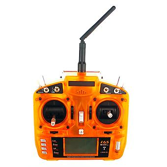 2.4GHz 6CH Transmitter Suitable for fixed-wing/helicopter Orange