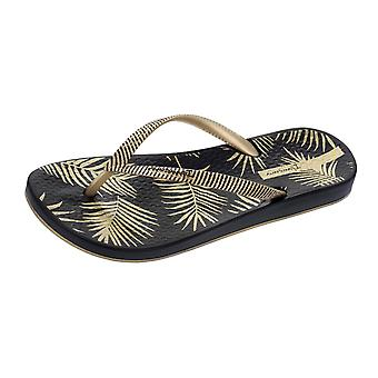 Sandalias de mujer Ipanema Flip Flops Anatomica naturaleza playa - oro