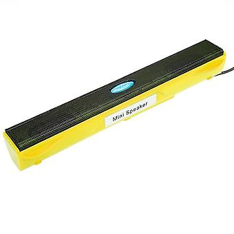 Portable Laptop/computer/pc Speaker Amplifier Loudspeaker Usb Soundbar, Stick