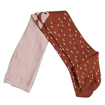 Cartoon Cute Baby Girls Knee High Socks- Tights Leg Warmer Fox Animal Cotton