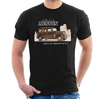Austin You Can Depend On It British Motor Heritage Men's T-Shirt