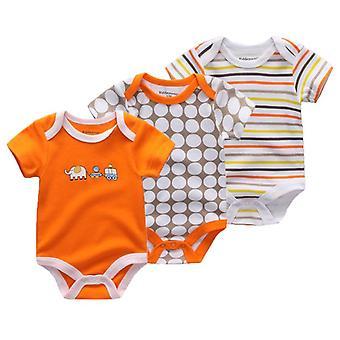 Bambino Ragazza Unicorno Abbigliamento Unisex 0-12m Bambino Ragazzo Abbigliamento Corto Manica Bodysuits Roupas