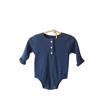 赤ちゃんの長袖ロンパース0-2年間新生児の服