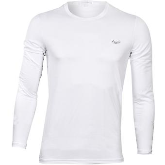 Ermenegildo Zegna #UseTheExisting Long-Sleeve Crew-Neck T-Shirt, White