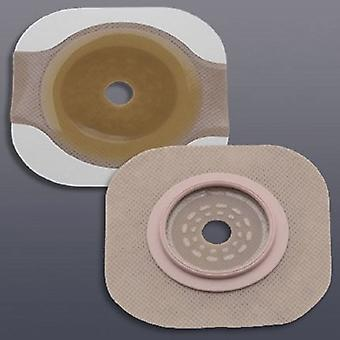 Hollister Colostomy Barrier New Image Flexted Trim to Fit, Extended Wear Tape 2-3/4 Inch Flange Blue Code Hyd, 5 Count