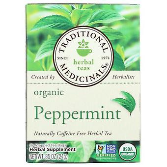 Traditional Medicinals Teas Organic Peppermint Tea, 16 Bags