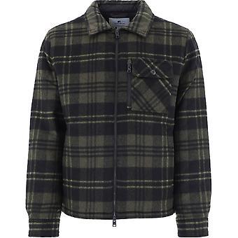 Woolrich Woos0039mrut23626031 Men's Green Wool Outerwear Jacket