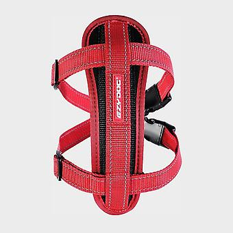New Ezy-Dog Chest Plate Dog Harness Red