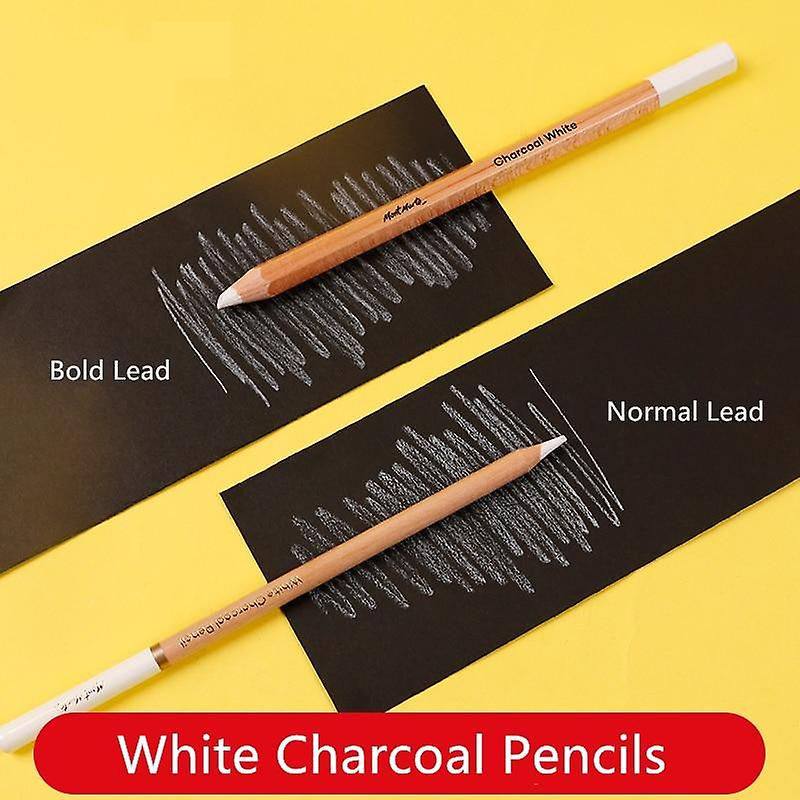 White Charcoal Pencil Highlight Sketch Drawing Art Tools ...