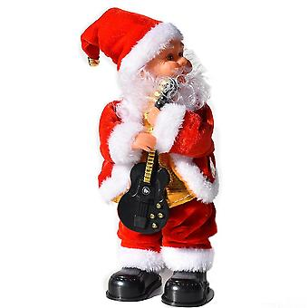 Electric Santa Claus For Christmas Decorations And's Toys (30cm)