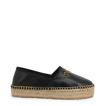 Amore moschino ja10393 donne's pelle basso top slip-on