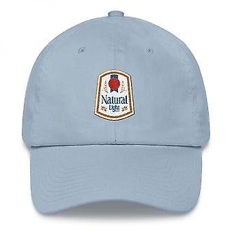 Natural Light Vintage Logo verstelbare papa hoed