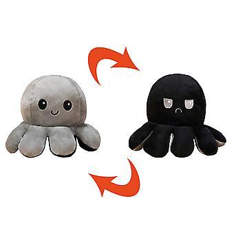 Flip Octopus Doll Flip Octopus Doll Cute Octopus Table Toy Odwróć odwracalną pluszową ośmiornicę zabawka urocza lalka