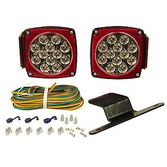 Blazer Lighting C5721 Led Clear Lens Submersible Trailer Light Kit