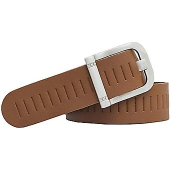 Shenky punched leather belt 4cm