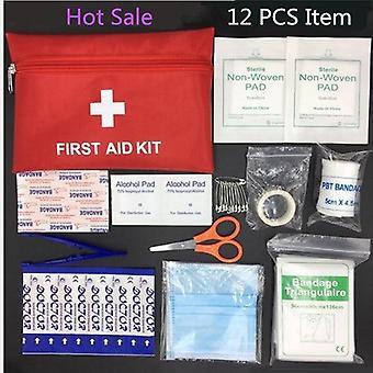 Kit de sobrevivência de emergência, primeiro socorro familiar/kit de viagem esportiva, saco médico doméstico