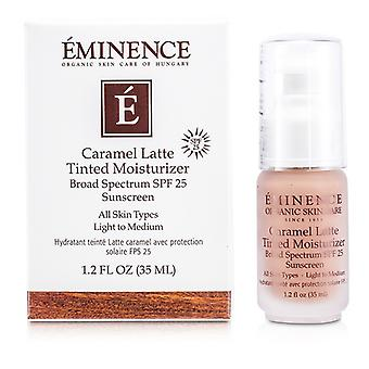 Eminencia Latte caramelo color hidratante SPF 25 (luz a medio) 35ml / 1.2 oz
