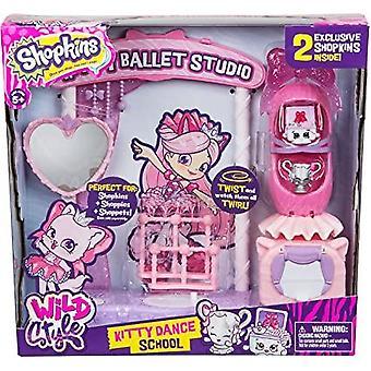 Escuela de danza Shopkins Kitty Playset
