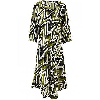 Masai Clothing Nora Woodbine Patterned Dress