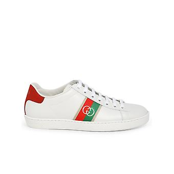 Gucci 6457671xgm09063 Women's White Leather Sneakers