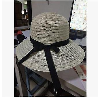 Kesä muoti aurinko hatut suuri brimmed olki ranta hattu