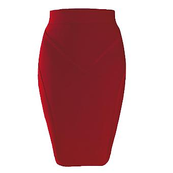 New Arrival Bandage Skirts Summer Women Pencil Bodycon Sexy Office Ladies