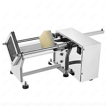 Electric Potato Chipper Carrot Slicer Automatic Heavy Duty Stainless Steel