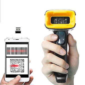 Handheld Wireless Qr Barcode Scanner Și K1 Weird 1d/2d Qr Bar Code Reader