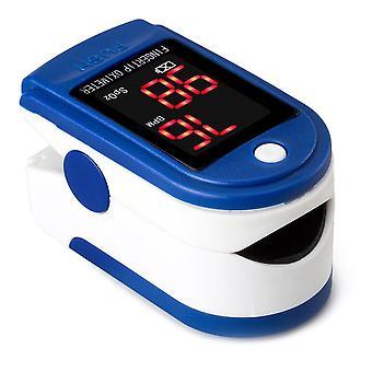 Oxímetro de pulso de dedo portátil, herramienta de monitor de frecuencia cardíaca, oxígeno en sangre digital