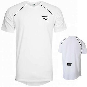 Puma Mens Evolution Core T-Shirt Casual Sports Top White 573337 02