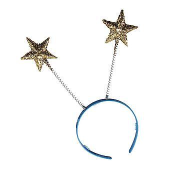 Bristol novità gj275 teste boppers oro stelle costume set accessorio, unisex-adulto, multicolore, uno