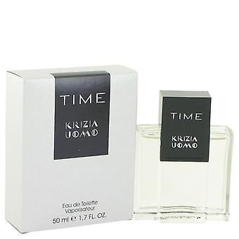 Krizia Time by Krizia Eau De Toilette Spray 1.7 oz / 50 ml (Men)