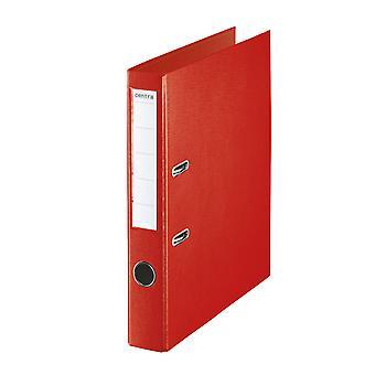 Rapid A4 Folder Lever Arch File 50mm Polypropylene Red