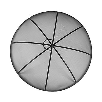 Round Firepit Dome Mare Metal Dome 72.5cm